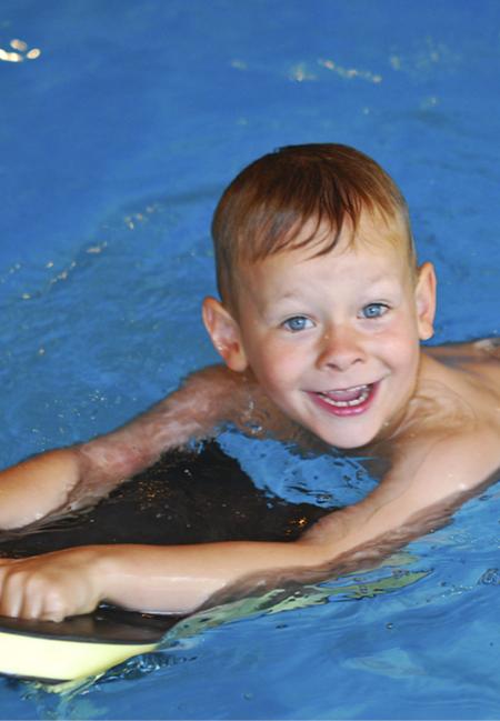 Fortgeschrittener Schwimmkurs Kinder Sportbad Ziehers