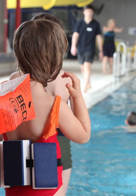 Anfängerschwimmkurs-Kinder Sportbad Ziehers